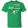 Sister Courageous On My Honor Girl Scouts Snoopy T Shirt