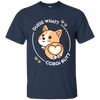 Colorful Black Presents For Collection Corgi T Shirt Guess What V1