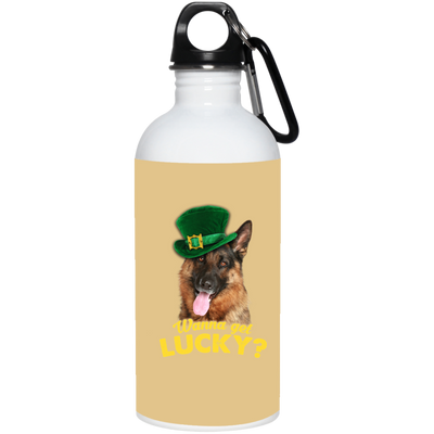 Nice German Shepherd Mug - Wanna Get Lucky, is a cool gift for friends