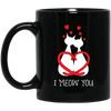 Nice Cat Mug - I Meow You, is a cool gift for friends and family