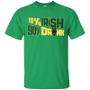 10% Irish 90% Drunk Doberman T Shirt