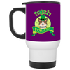Nice Pitbull Mug - Irish For A Day, is a cool gift for friends