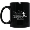 I Don't Quit - I Will Not Let My Worry Control Me Running Mug