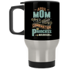 April Mom Combination Princess And Warrior Travel Mug