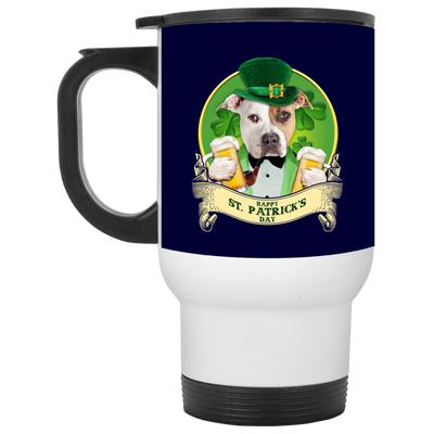 Nice Pitbull Mug - Happy St Patrick's Day, is a cool gift for you