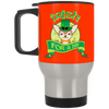 Nice Chihuahua Mug - Irish For A Day, is a cool gift for friends