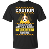 Caution This Person May Talk About Beagle Anytime T Shirt