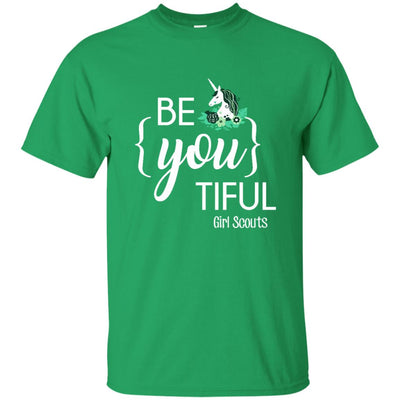 Be You Tiful Girl Scout T Shirt