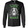 Nice Beagle T Shirt - All You Need Is Love And Beagle St Patrick