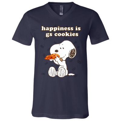 Snoopy - Happiness Is GS Cookies Scouting T Shirt