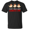Beautiful Cat Tshirts Don't Mess With Kungfu Cat T Shirt