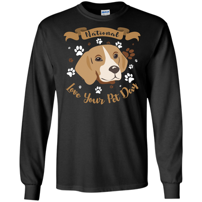 Nice Beagle T Shirt - National Love Your Pet Day, is a cool gift