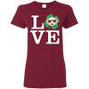Nice Labrador T Shirt - Love Labrador, is a cool gift for friends
