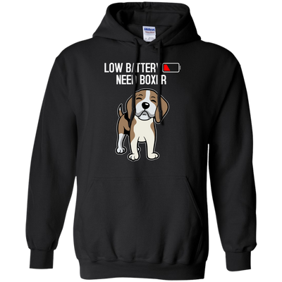 Low Battery Need Boxer T Shirt