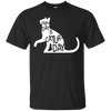 Everyday Is Caturday Awesome Black Cat T Shirt With Art Graphics