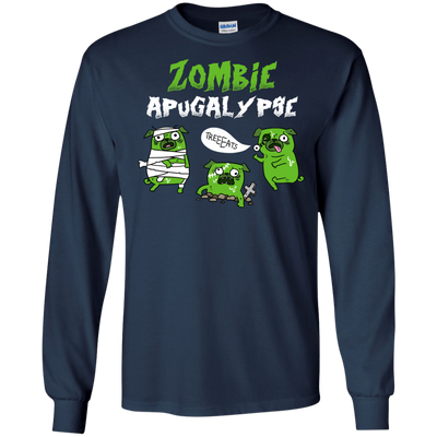Nice Pug T Shirt - Zombies Apugalypse, is a cool gift for your friend