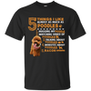 Five Things I Like Almost As Much As Poodles T Shirt