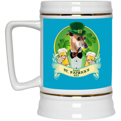 Nice Greyhound Mug - Happy St Patrick's Day, is an awesome gift