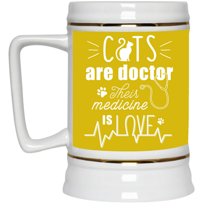 Nice Cat Mug - Cat Are Doctors, is a cool gift for your friends