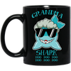 Deep Sea Lovely Color Grandma Shark Mug