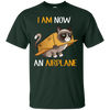 I Am Now An Airplane Cat T Shirt