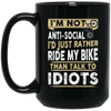 I'm Not An-ti Social Cycling Mug