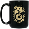 I Go With All My Heart Cycling Mug