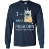 Perfect Beautiful Pug T Shirt - I Am A Pugicorn Gifts For Lovers