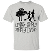 Live Simply Running T Shirt