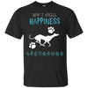 How I Spell Happiness Greyhound T Shirt