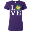 Nice Cat T Shirt - Love Cat, is a cool gift for friends and family