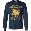 How I Spell Happiness Pug T Shirt