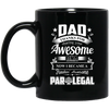 Dad Thanks For Sharing Your DNA Paralegal Mug