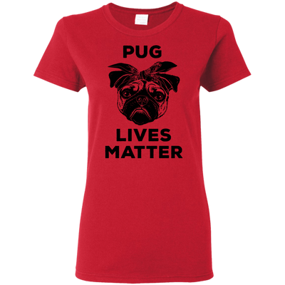 Pug Lives Matter Awesome T Shirt Funny Pug Lover Gift