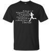 I Will Not Let My Worry Control Me Running T Shirt