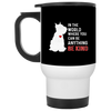 Nice Schnauzer Mug - In The World Where You Can Be, cool gift