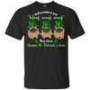 Nice Pug T Shirt - What Lucky Puppies Say, is a cool gift for you