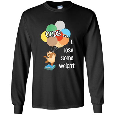 Oops I Lose Some Weight Cat T Shirt