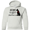Nice Doberman T Shirt - Home Is Where Your Doberman Is, cool gift