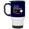 Nice Chicken Mug - The Most Powerful Antidepressant, is cool gift