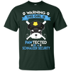This Girl Is Pawtected By Schnauzer Security T Shirt