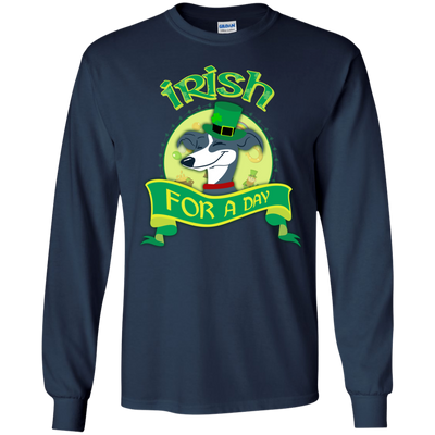 Nice Greyhound T Shirt - Irish For A Day, is a cool gift for friends