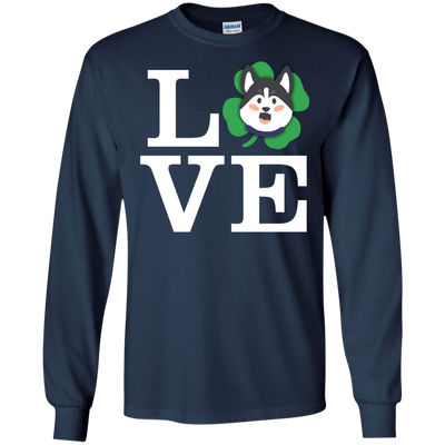 Nice Husky T Shirt - Love Husky, is a cool gift for your friends