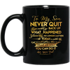 Get On Track And Move Closer To Your Dreams And Goals Father Son Mug