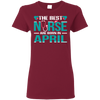 Nice Nurse T Shirt - The Best Nurses Are Born In April, cool gift
