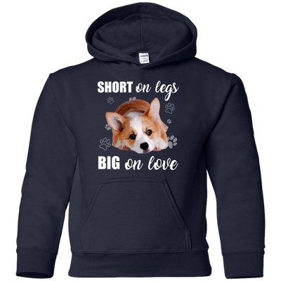 Nice Corgi T Shirt - Short On Legs Big On Love, is an awesome gift