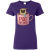 Pug Of Tea T Shirt