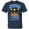 This Girl Is Pawtected By Poodle Security T Shirt