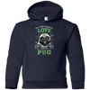 Nice Pug T Shirt - All You Need Is Love And Pug St Patrick, nice gift