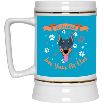 Nice Doberman Mug - National Love Your Pet Day, is a cool gift